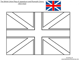 Imagination British Flag Coloring Page Pages Uk 6645