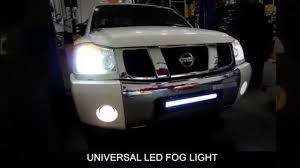 2018 Nissan Titan Led Fog Lights Spec D Universal Led Fog Light Installation Video
