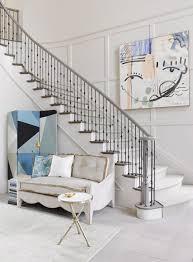 Designer Showhouse Sarasota Florida Stairway Decorating Painting Tile Floors Dream Decor
