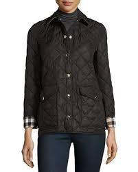 Burberry Westbridge Quilted Jacket, Black &  Adamdwight.com