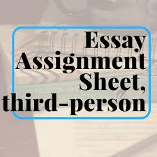 essay assignment sheet causal analysis com essay assignment sheet causal analysis