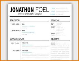 9 Resume Headers That Stand Out Happy Tots