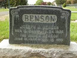 Iva Laura Benson (Jones) (1905 - 1978) - Genealogy