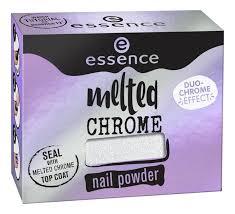 <b>Пудра</b>-<b>втирка для ногтей</b> Melted Chrome Nail Powder 1г essence ...