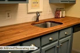 ikea butcher block countertop countertops undermount sink reviews