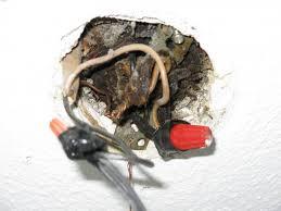 ceiling fan install no junction box 294887 on wiring bathroom light fixture
