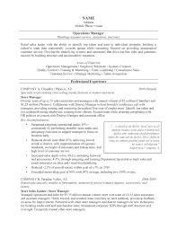 resume operations director resume simple operations director resume full size