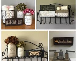 Decorative Bathroom Signs Home Bathroom Decor Etsy 6