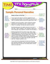 scaffolded reflective narrative prompts scaffolding prompts and  samples of narrative essays personal narrative example