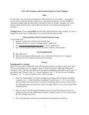 in his proposal course requirement extortion michael granof  4 pages summary and personal perspective essay spring 17 f2f