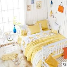 yellow queen bedding. Wonderful Yellow Aliexpresscom  Buy Sweet Girl Light Yellow White Fairy Duvet Cover Bedding  Set Princess 100 Cotton Lace Bed Skirt Full Queen King Size SetB3032 From  With Yellow Queen Bedding E