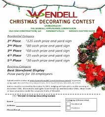 images christmas decorating contest. The Wendell Appearance Commission, Old Oak Construction, Broach Custom Signs, And Domino\u0027s Pizza Are Sponsoring 4th Annual Christmas Decorating Contest. Images Contest R