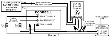 m1 applications visual indications for the hearing impaired doorbell wiring 4 wires at Wiring Diagram For Front Door Bell