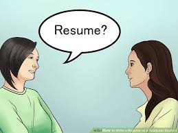How To Write A Resume As A Graduate Student (With Pictures)