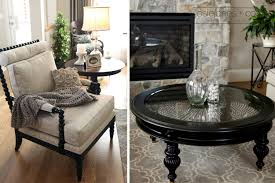 pier one living room ideas. black round vintage wood and glass pier one coffee tables designs to complete living room ideas r