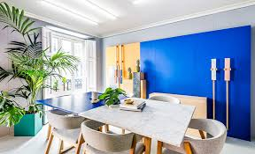 colorful office space interior design. Delighful Space Work Meets Fun A Colorful Office Space Throughout Interior Design U