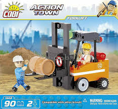 Коби блоки действие город. погрузчик-строительный набор ...