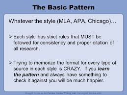 Mla Format Basic Rules Insaat Mcpgroup Co