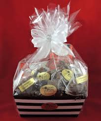 caramel gift basket overwrap