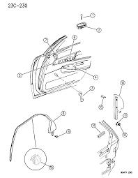 1995 chrysler concorde door rear remote control bezels mouldings diagram 00000ca1