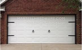 Garage Door Decorative Accessories Agave Ironworks Wrought Iron Decorative Garage Door Kits 6