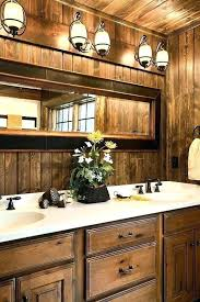 rustic bathroom lighting fixtures. Rustic Bathroom Light Fixtures Lighting Best Ideas . R