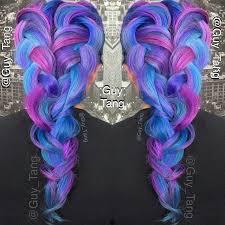 Pin Uživatele Kí šon Na Nástěnce Barvy Cabellos Colores Fantasia