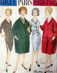 Vogue Dress Patterns Best 48s Vintage VOGUE Sewing Pattern B48 DRESS COAT 48R