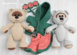 Free Crochet Patterns Custom Honey Teddy Bears In Love Crochet Pattern Amigurumi Today