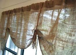 burlap kitchen curtains burlap ds kitchen valance patterns bag curtains to burlap kitchen valance from popular burlap kitchen curtains