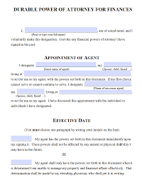 Attorney Adobe Form Durable – Power Pdf Michigan Of Free