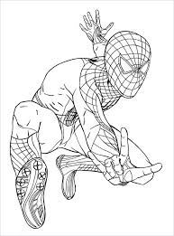 Spiderman Painting Pages Trustbanksurinamecom
