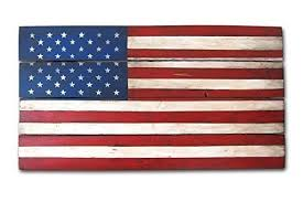 patriotic wooden wall art