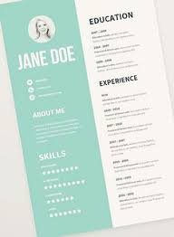 Free Usable Resume Templates 41 Best Resume Template Free Images Resume Cv Resume Design