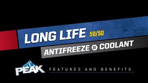 Zerex Coolant Compatibility Chart Peak Long Life 50 50 Antifreeze Coolant