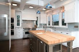butcher block kitchen island butcher block island for traditional kitchen with white cabinets