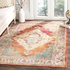orange and blue area rug crystal watercolor medallion orange blue area rug arapaho blue orange area