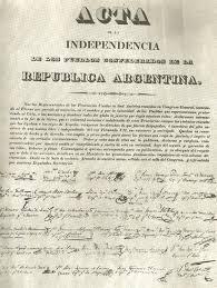 Resultado de imagen para dia de la independencia argentina