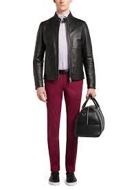 boss mens dark purple stanino w slim fit stretch cotton chino