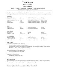 Microsoft Templates For Resume New Free Resume Templates Microsoft