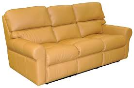 Brookhaven Reclining Sofa by Omnia Leather