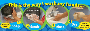 kids washing hands poster. Simple Kids LearningZoneXpress 812 X 24 In Hand Washing Poster On Kids Hands S