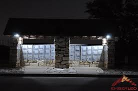 Exterior Recessed Soffit Lighting Soffit Lighting Powered By Solar Led Lights Ember Led