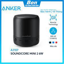 Loa bluetooth SoundCore Mini 2 6W (by ANKER) - A3107 - Loa Bluetooth Nhãn  hiệu Soundcore