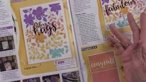 Tonic Studios Design Collection Magazine Simply Cards Papercraft Magazine 198