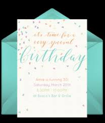 Electronic Birthday Invite Free Teen Birthday Online Invitations Punchbowl