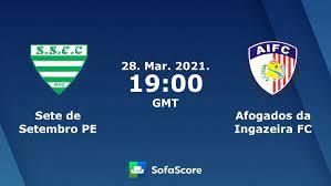 Sete de Setembro PE Afogados da Ingazeira FC live score, video stream and  H2H results - SofaScore