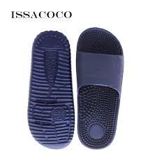 <b>ISSACOCO</b> 2019 Men's Flat Indoor Massage Slippers Men Home ...