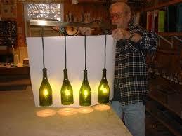 wine bottle lighting.  Wine Hanging Wine Bottle Lights Intended Lighting T
