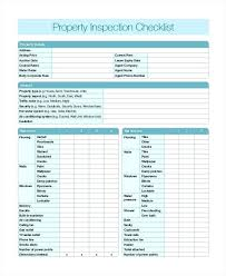Home Inspection Checklist Word Documents Download Free